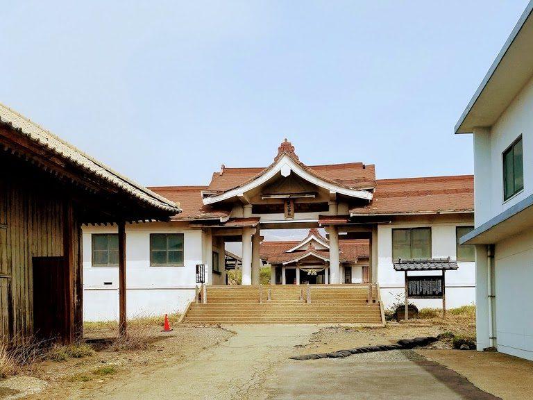 阿蘇山上神社の本殿