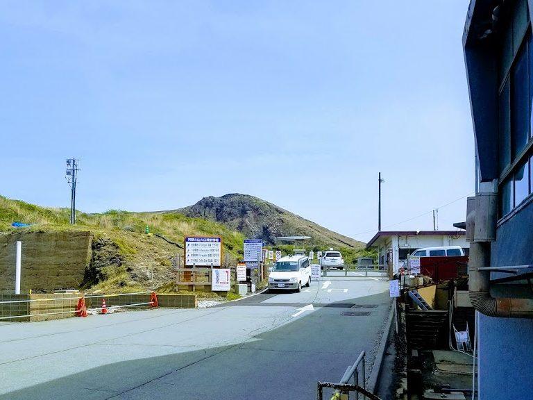 阿蘇山頂ロープウェイ乗り場